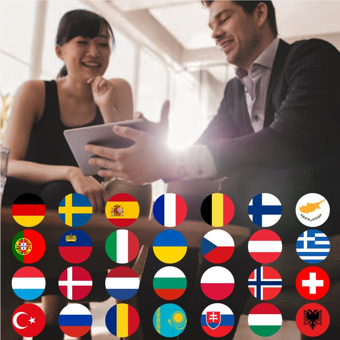 Lr World negocios en 28 países