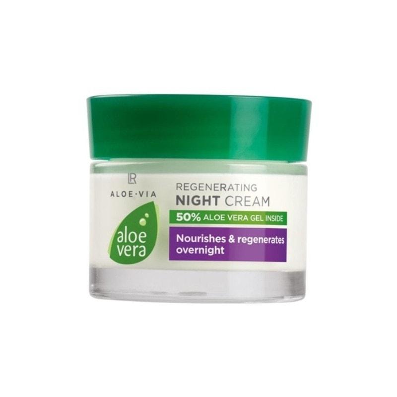 Aloe Vera Crema Para La Cara Hidrata y apoya la piel durante la noche