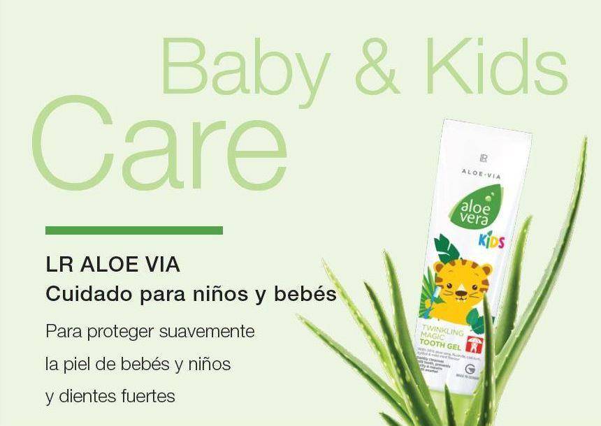 Cuidado Para proteger suavemente la piel de bebés y niños y dientes fuertes