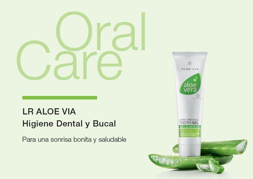 Higiene Dental y Bucal con Aloe Vera